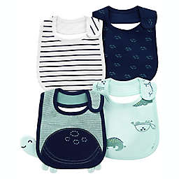 carter's® 4-Pack Turtle Teething Bibs