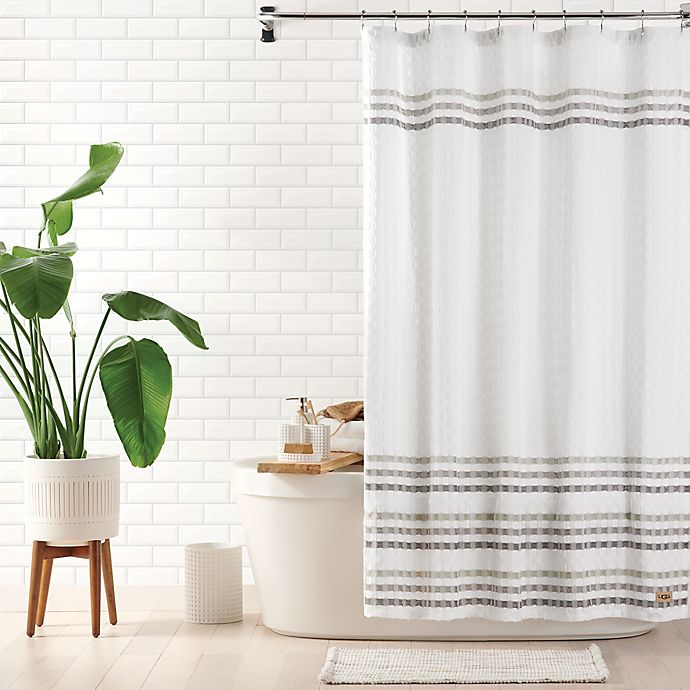 Alternate image 1 for UGG® Audree Shower Curtain