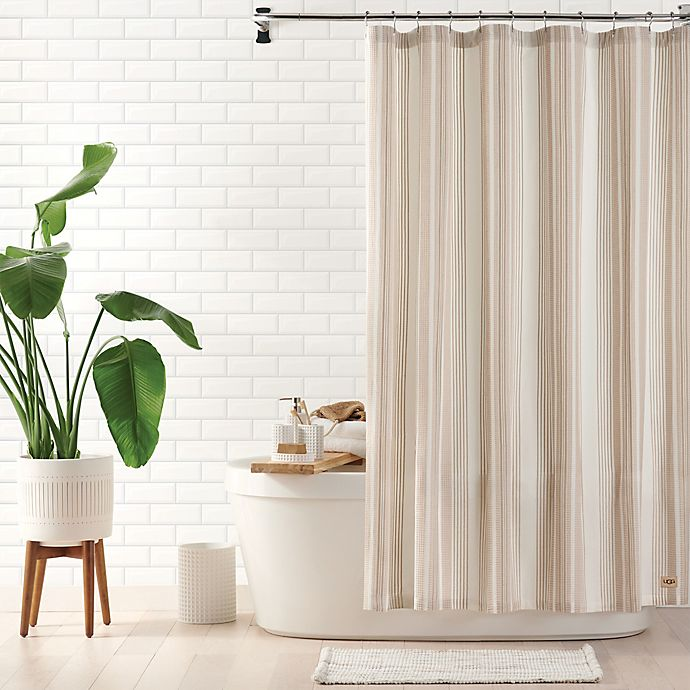 Alternate image 1 for UGG® Valerie Shower Curtain Collection