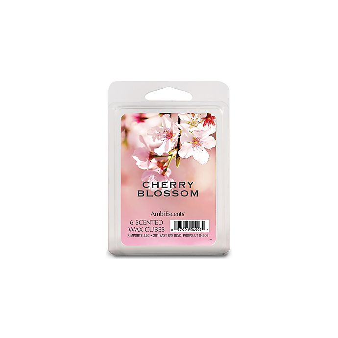 Alternate image 1 for AmbiEscents™ 6-Pack Cherry Blossom Scented Wax Fragrance Cubes