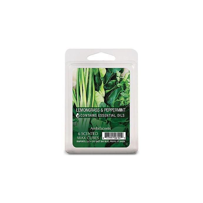Alternate image 1 for Lemongrass & Peppermint Fragrance Wax Cubes