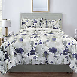 Springs Home™ Watercolour Floral 3-Piece Comforter Set in Green