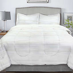Springs Home Watercolor Horizon Comforter Set in Beige