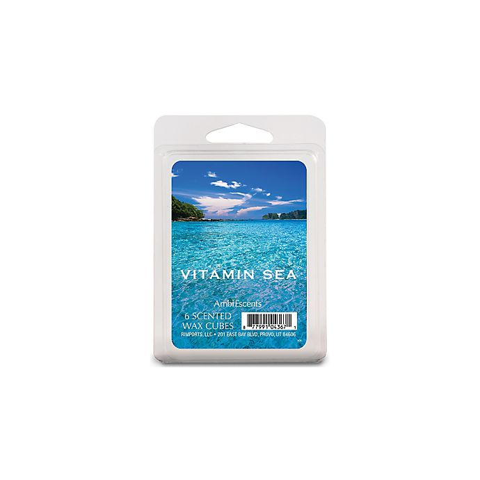Alternate image 1 for AmbiEscents™ Vitamin Sea 6-Pack Wax Fragrance Cubes