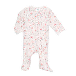 aden + anais® Comfort Knit™ Perennial Footie in Pink