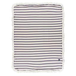 KicKee Pants® Stripe Stroller Blanket in Grey