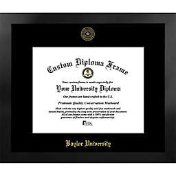Baylor University 19-Inch x 22-Inch Gold Foil Seal Diploma Frame in Black