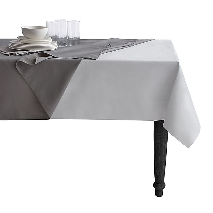 Alternate image 1 for Simply Essential™ Vinyl Table Pad in White