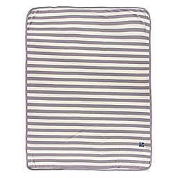 KicKee Pants® Stripe Swaddle Blanket in Grey