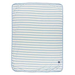 KicKee Pants® Stripe Swaddle Blanket in Blue