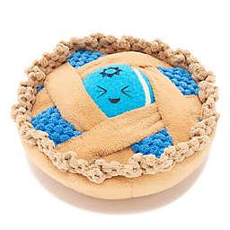 BARK Ballberry Pie Squeaker Dog Toy in Blue