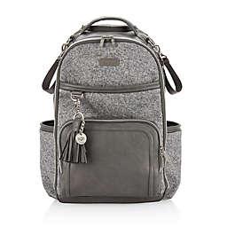 Itzy Ritzy® Boss Plus™ Diaper Bag Backpack in Grey