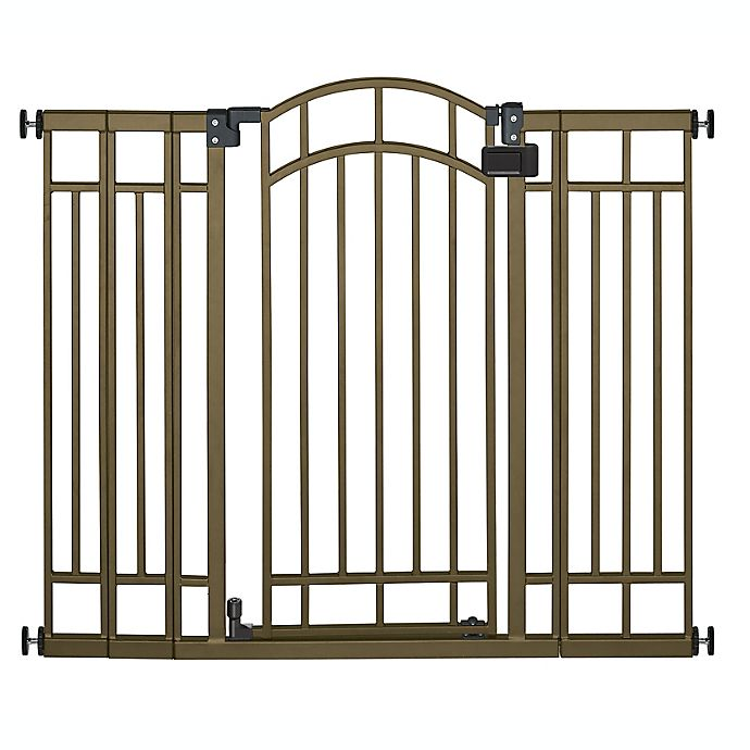 Alternate image 1 for Summer™ Multi-Use Decorative Extra Tall Walk-Thru Gate in Bronze
