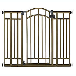 Summer™ Multi-Use Decorative Extra Tall Walk-Thru Gate in Bronze