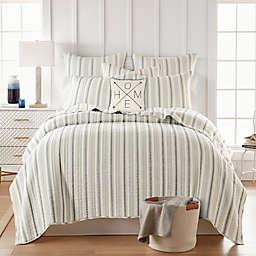 Levtex Home Rochelle Stripe 3-Piece Reversible Quilt Set