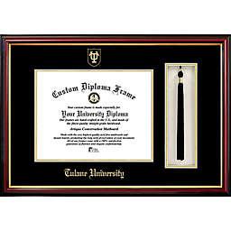 Tulane University School Seal Graduation Tassel and Diploma Frame