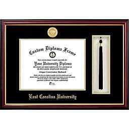 East Carolina University School Seal Graduation Tassel and Diploma Frame