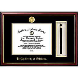 University of Oklahoma School Seal Graduation Tassel and Diploma Frame