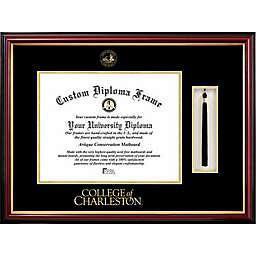 College of Charleston School Seal Graduation Tassel and Diploma Frame