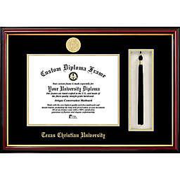 Texas Christian University School Seal Graduation Tassel and Diploma Frame