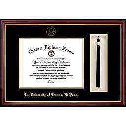 University of Texas at El Paso School Seal Graduation Tassel and Diploma Frame