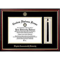 Virginia Commonwealth University School Seal Graduation Tassel and Diploma Frame