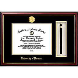 University of Vermont School Seal Graduation Tassel and Diploma Frame