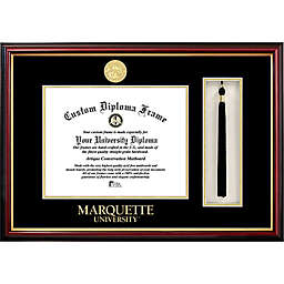 Marquette University School Seal Graduation Tassel and Diploma Frame