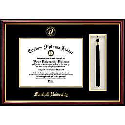 Marshall University School Seal Graduation Tassel and Diploma Frame