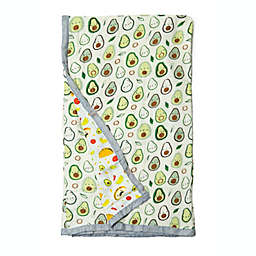Loulou Lollipop Avocado Oversize Multicolor Muslin Quilt