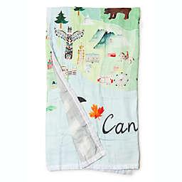 Loulou Lollipop Canada Oversize Multicolor Muslin Quilt
