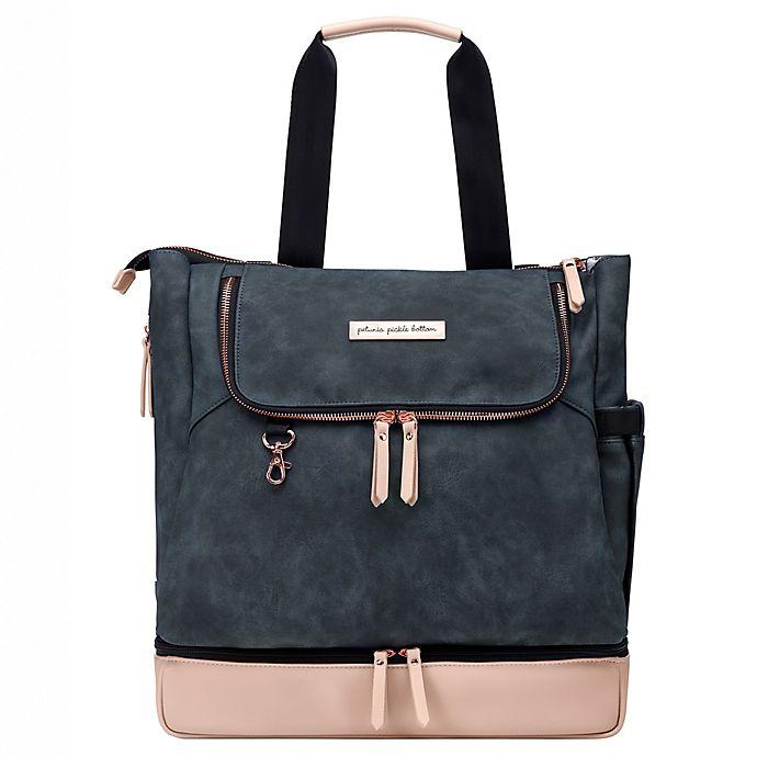 Alternate image 1 for Petunia Pickle Bottom® Pivot Diaper Backpack in Indigo