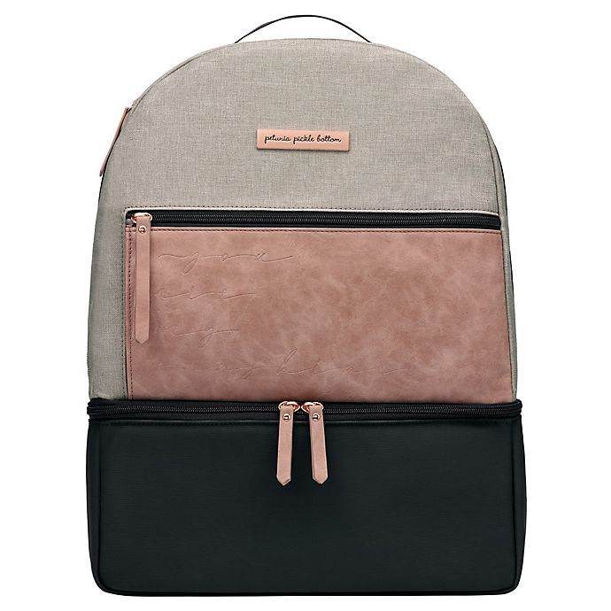 Alternate image 1 for Petunia Pickle Bottom® Axis Backpack Diaper Bag in Dusty Rose
