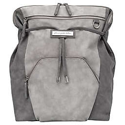 Petunia Pickle Bottom® Cinch Convertible Diaper Backpack in Pewter