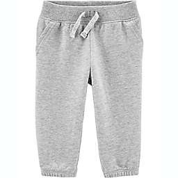 carter's® Size 12M Everyday Pull-On Drawstring Pant in Grey
