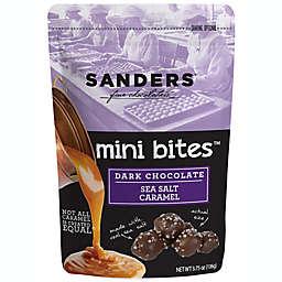 Sanders 3.75 oz. Mini Dark Chocolate and Sea Salt Caramel Bites