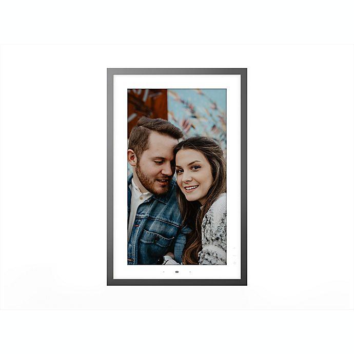 Alternate image 1 for Lenovo Smart Frame 21.5-Inch Digital Photo Frame in Metallic Grey