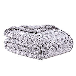 Wild Sage™ Kaity Plush Sherpa Blanket in Grey