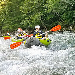 Whitewater Inflatable Kayaking Tour in North Carolina by Spur Experiences®