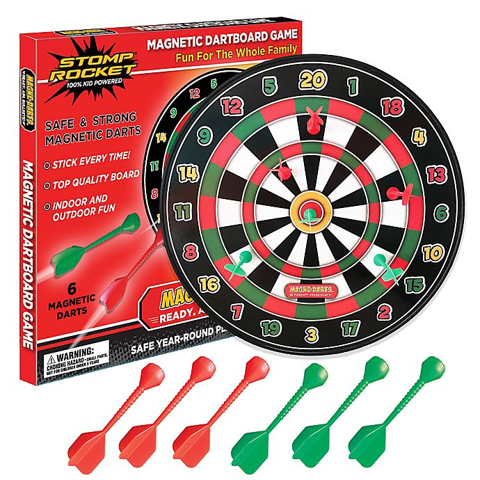 Alternate image 1 for The Stomp Rocket® Magne-Darts Dartboard
