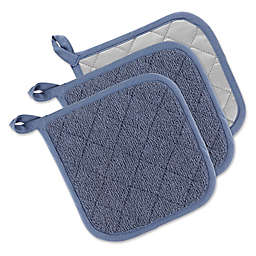 DII® Terry Pot Holders (Set of 3)