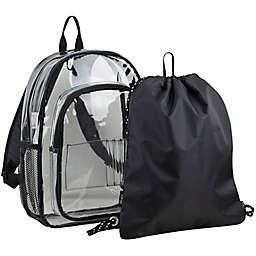 FUEL Clear Backpack and Cinch Sling Bundle Set