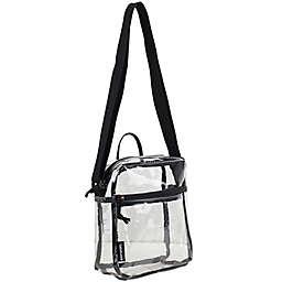 Eastsport Clear Mini Crossbody Messenger Bag