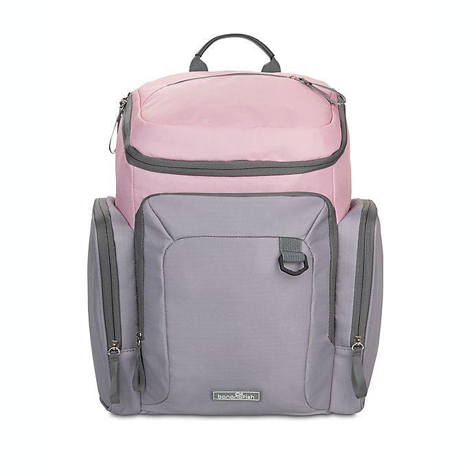 Alternate image 1 for Banana Fish Blair Backpack Diaper Bag in Black