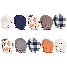 Hudson Baby® 10-Piece Forest Scratch Mitten Set in Orange