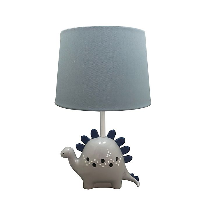 Alternate image 1 for Levtex Baby® Kipton Dino Lamp in Blue/Grey
