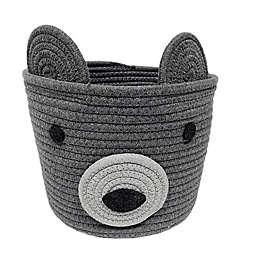 Levtex Baby® Bear Rope Storage Basket in Grey