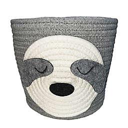 Levtex Baby® Sloth Rope Storage Basket in Grey