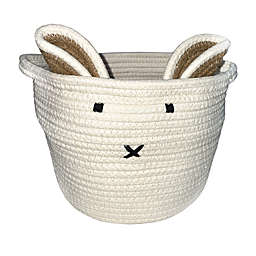 Levtex Baby® Bunny Rope Storage Basket in White
