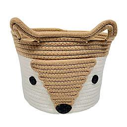 Levtex Baby® Fox Rope Storage Basket in Orange